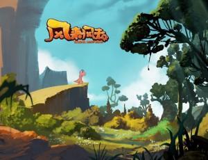 迪士尼金牌制作人莫林·唐莉加盟动漫作品《风来风去》首次公开亮相