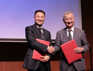 """New Opportunities in Asian Films Cooperation"" Promotion Meeting of Newtiming in Hong Kong"